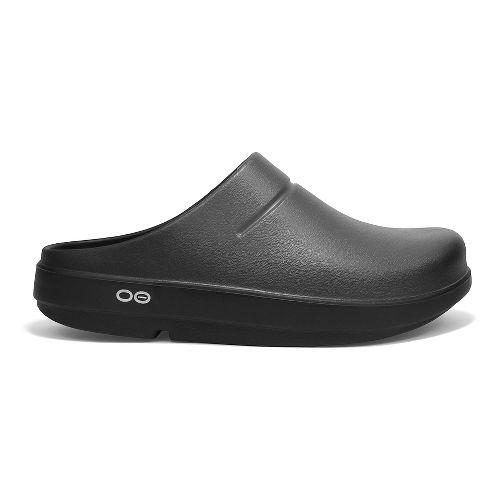 OOFOS OOcloog Luxe Sandals Shoe - Graphite 6