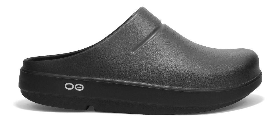 oofos oocloog luxe sandals shoe graphite 10