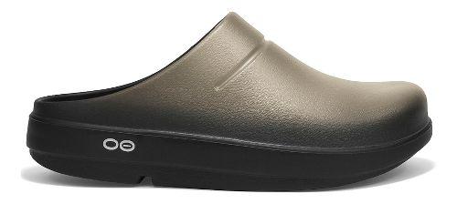 OOFOS OOcloog Luxe Sandals Shoe - Latte 10