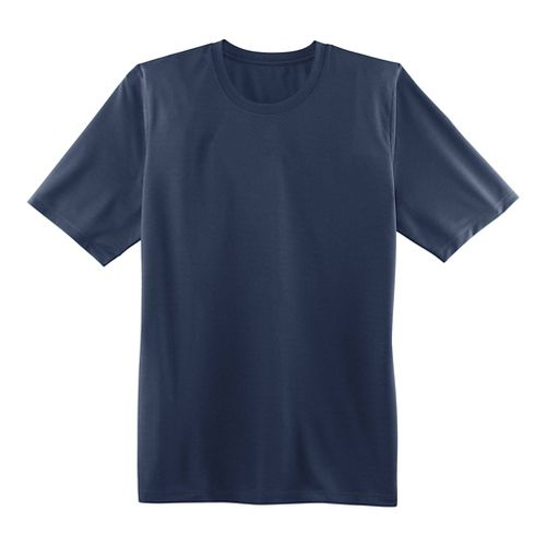 Womens Brooks Podium Short Sleeve Technical Tops - Navy XS