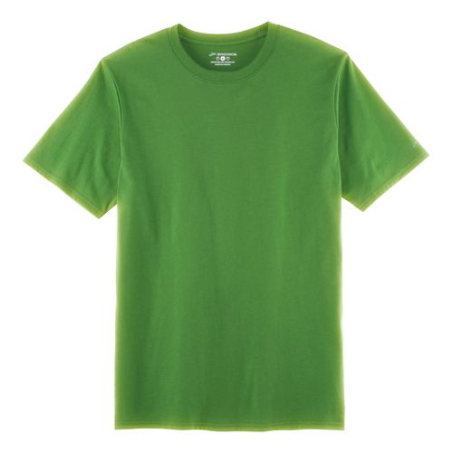 Mens Brooks Go-To Short Sleeve Technical Tops - Forest XL