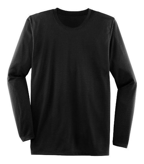 Mens Brooks Podium Long Sleeve Technical Tops - Black S