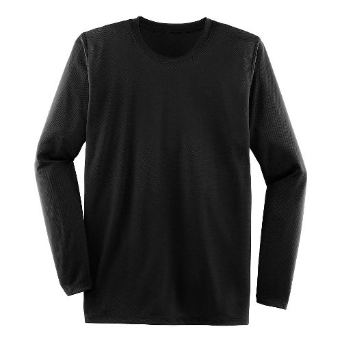 Mens Brooks Podium Long Sleeve Technical Tops - Black XL