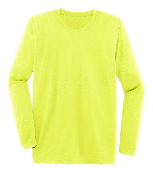 Mens Brooks Podium Long Sleeve Technical Tops - Nightlife L