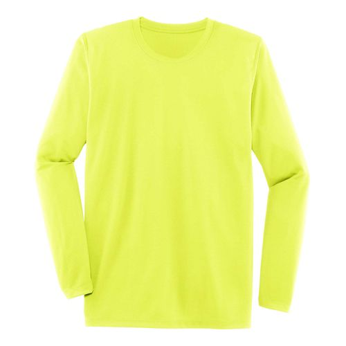 Mens Brooks Podium Long Sleeve Technical Tops - Nightlife XL