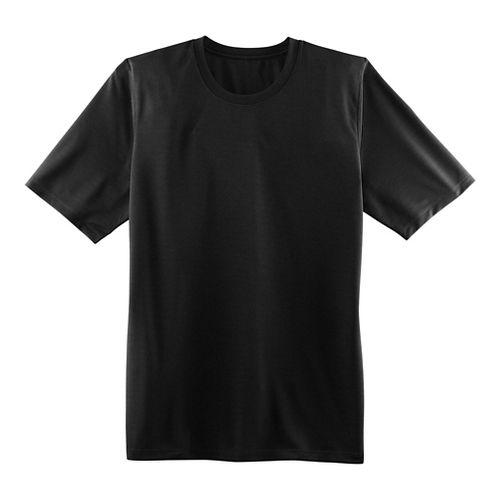 Mens Brooks Podium Short Sleeve Technical Tops - Black XL