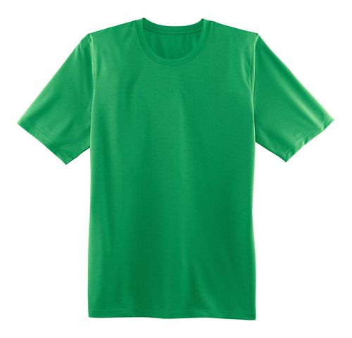 Mens Brooks Podium Short Sleeve Technical Tops - Podium Green S