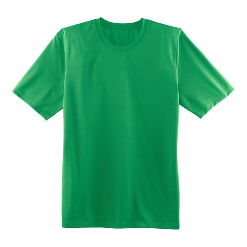 Mens Brooks Podium Short Sleeve Technical Tops - Podium Green M