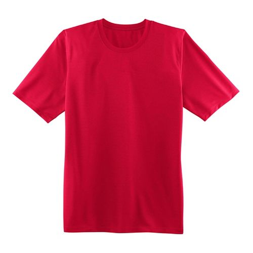 Mens Brooks Podium Short Sleeve Technical Tops - Fiesta Red XS