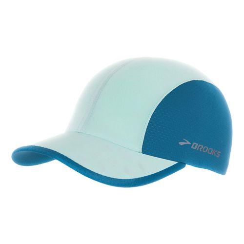 Brooks Run-Thru Hat Headwear - Surf/River