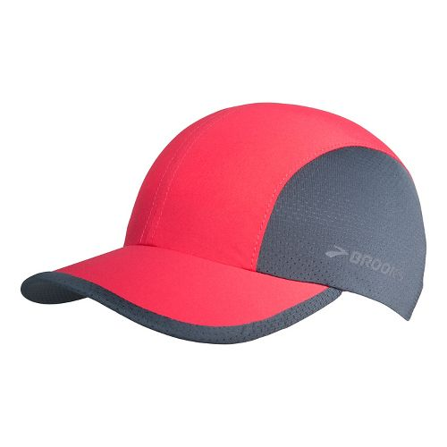 Brooks Run-Thru Hat Headwear - Poppy/Asphalt