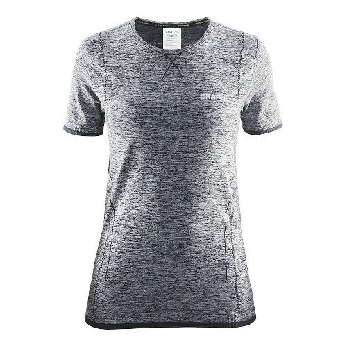 Womens Craft Active Comfort RN Short Sleeve Technical Tops - Black L