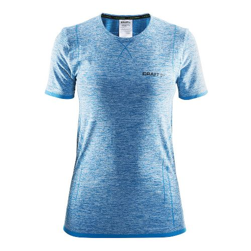 Womens Craft Active Comfort RN Short Sleeve Technical Tops - Mid Blue S