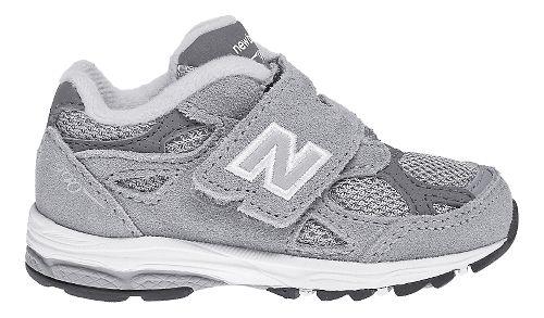 Kids New Balance 990v3 Running Shoe - Grey/White 5C