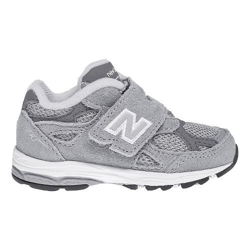 Kids New Balance 990v3 Running Shoe - Grey/White 5C