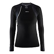 Womens Craft Active Extreme Concept Piece Long Sleeve Technical Tops - Black/Platinum S