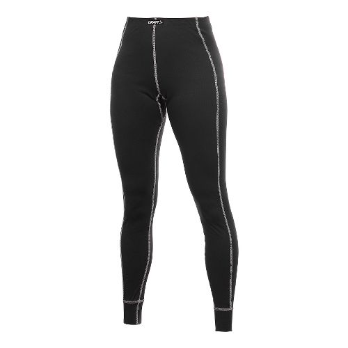 Womens Craft Active Long Under Tights & Leggings Pants - Black M
