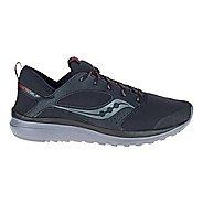 Mens Saucony Kineta Relay Runshield Running Shoe - Black/Red 7.5