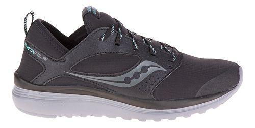 Mens Saucony Kineta Relay Runshield Running Shoe - Black/Mint 10.5