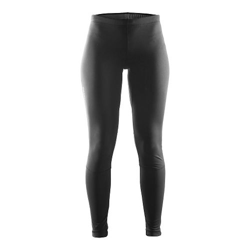 Womens Craft Defense Thermal Tights & Leggings Pants - Black/Ruby S