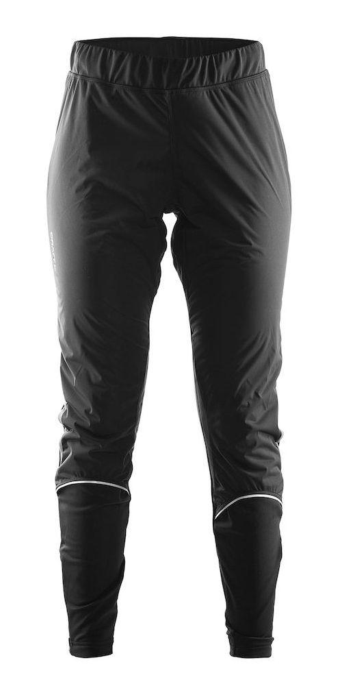 Womens Craft Defense Wind Tights & Leggings Pants - Black XS