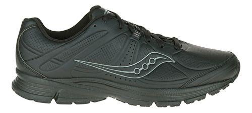 Mens Saucony Momentum Walking Shoe - Black 7
