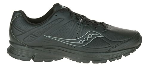 Mens Saucony Momentum Walking Shoe - Black 7.5