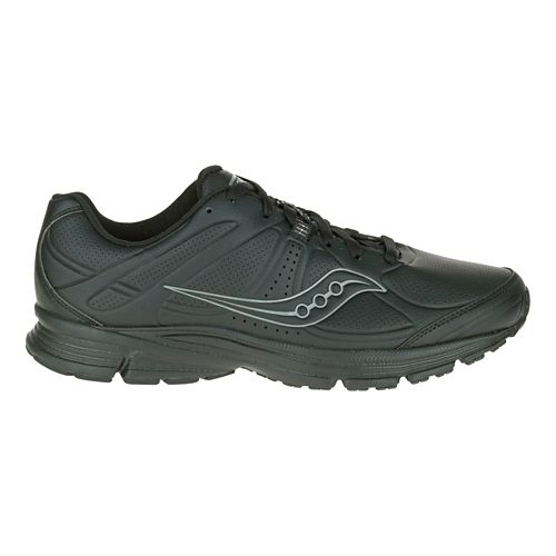 Mens Saucony Momentum Walking Shoe - Black 7