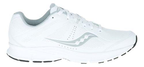 Mens Saucony Momentum Walking Shoe - White/Grey 12.5