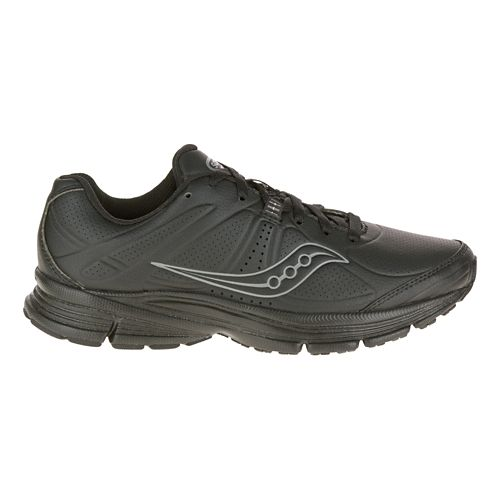Womens Saucony Momentum Walking Shoe - Black 7