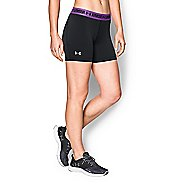 Womens Under Armour HeatGear Middy Compression & Fitted Shorts