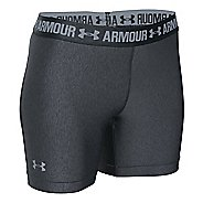 Womens Under Armour HeatGear Armour Middy Compression & Fitted Shorts