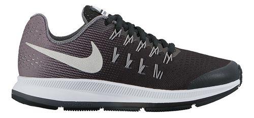 Kids Nike Air Zoom Pegasus 33 Running Shoe - Black 3.5Y