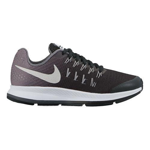 Kids Nike Air Zoom Pegasus 33 Running Shoe - Black 4.5Y