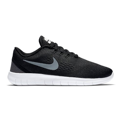 Kids Nike Free RN Running Shoe - Black 6.5Y