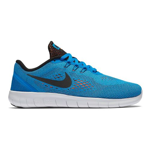 Kids Nike Free RN Running Shoe - Blue 4Y