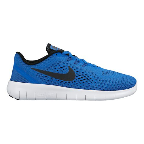 Kids Nike Free RN Running Shoe - Royal 7Y