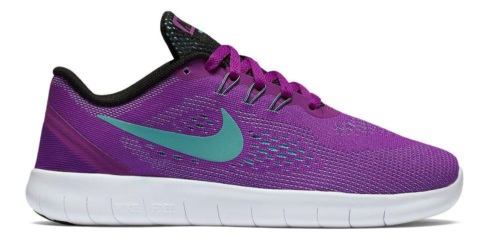 Kids Nike Free RN Running Shoe - Hyper Violet 6.5Y
