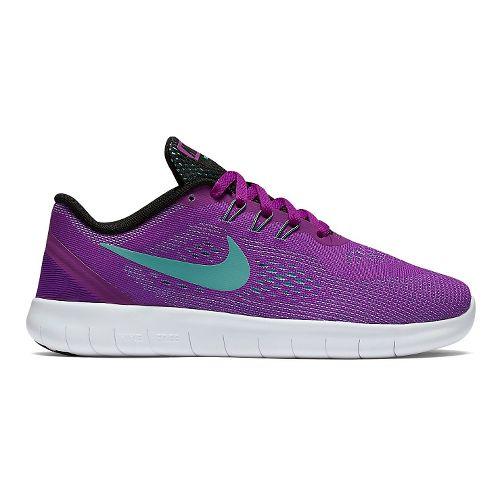 Kids Nike Free RN Running Shoe - Hyper Violet 5.5Y