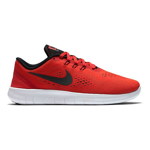 Kids Nike Free RN Running Shoe - Red 3.5Y