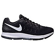 Mens Nike Air Zoom Pegasus 33 Running Shoe - Black/White 14