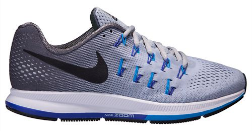 Mens Nike Air Zoom Pegasus 33 Running Shoe - Grey 8