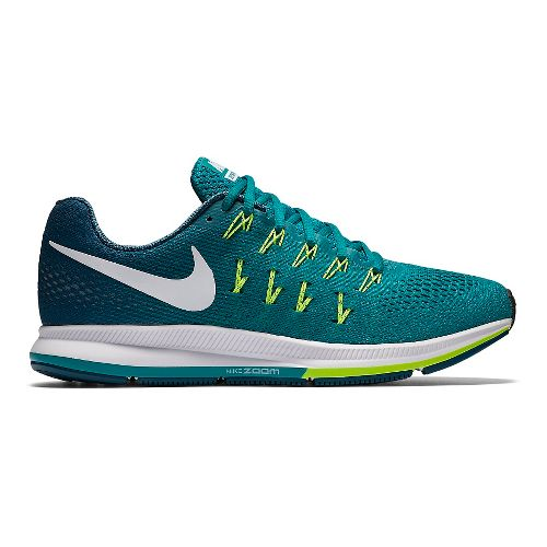 Mens Nike Air Zoom Pegasus 33 Running Shoe - Rio 12.5