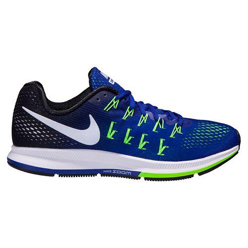 Mens Nike Air Zoom Pegasus 33 Running Shoe - Concord/Black 10