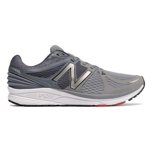 Mens New Balance Vazee Prism Running Shoe - Grey/Red 11