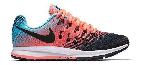 Womens Nike Air Zoom Pegasus 33 Running Shoe - Pink/Blue 6