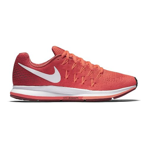 Womens Nike Air Zoom Pegasus 33 Running Shoe - Pink Blast 11