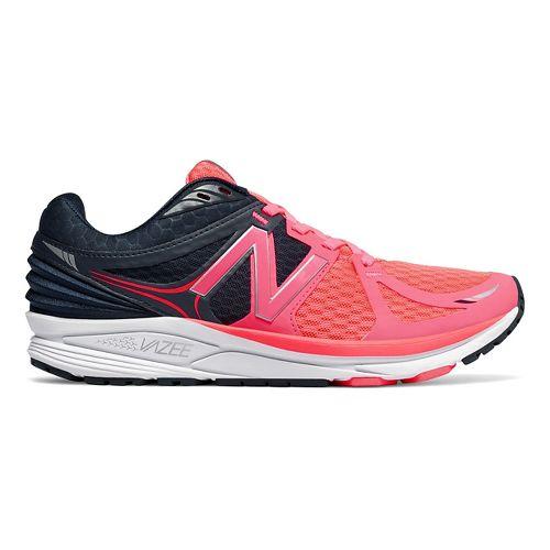 Womens New Balance Vazee Prism Running Shoe - Pink/Navy 10.5