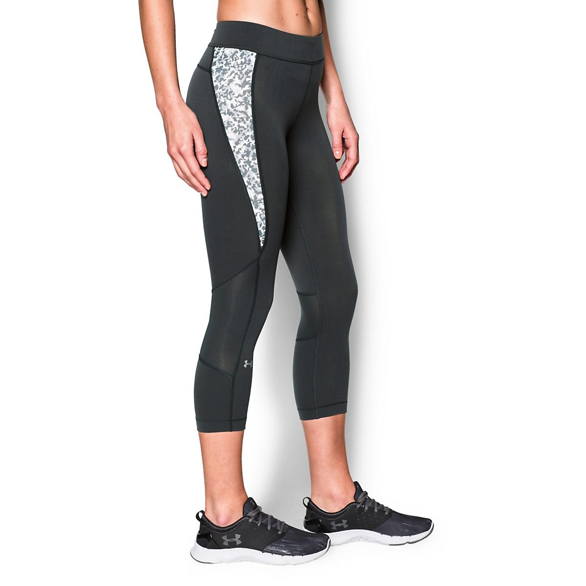 Women's Under Armour�Heatgear Armour Crop (Print Inset)
