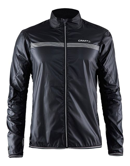 Mens Craft Featherlight Rain Jackets - Black L